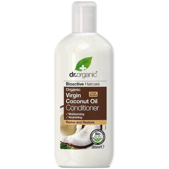 Dr. Organic Hajkondicionáló bio szűz kókuszolajjal 265ml
