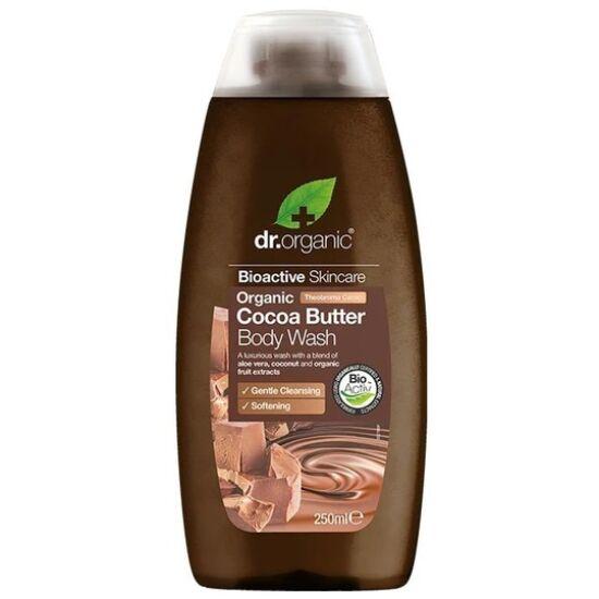 Dr. Organic Krémtusfürdő bio kakaóvajjal 250ml
