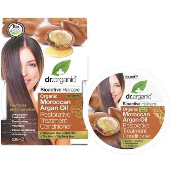 Dr. Organic Regeneráló hajpakolás marokkói bio argánolajjal 200ml