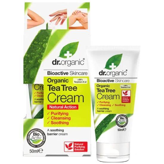 Dr. Organic Antiszeptikus krém teafaolajjal 50ml