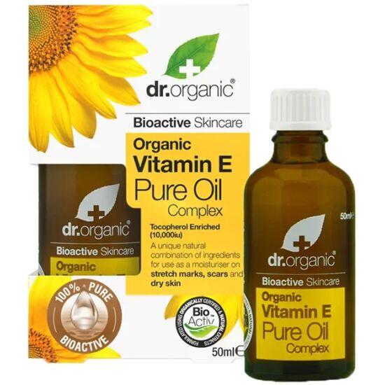 Dr. Organic Természetes E-vitaminos olaj 50ml