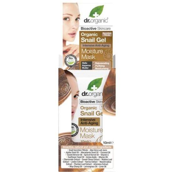 Dr. Organic Bioaktív csigagél hidratáló arcpakolás intenzív öregedésgátló hatással 10ml