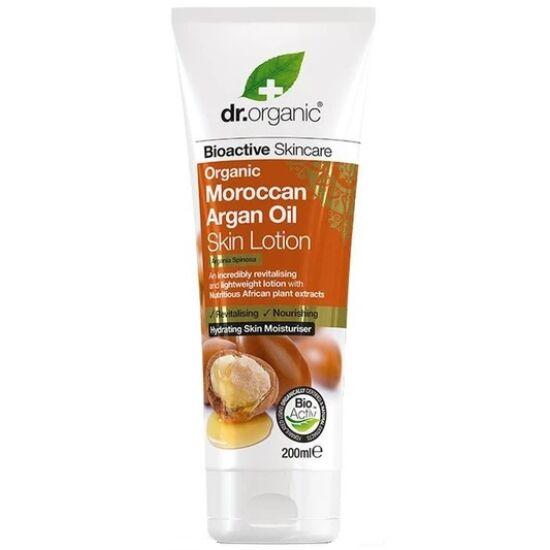 Dr. Organic Testápoló marokkói bio argánolajjal 200ml