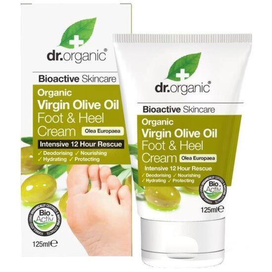 Dr. Organic Láb & sarokápoló krém bio olívaolajjal 125ml
