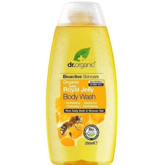 Dr. Organic Tusfürdő bio méhpempővel 250ml