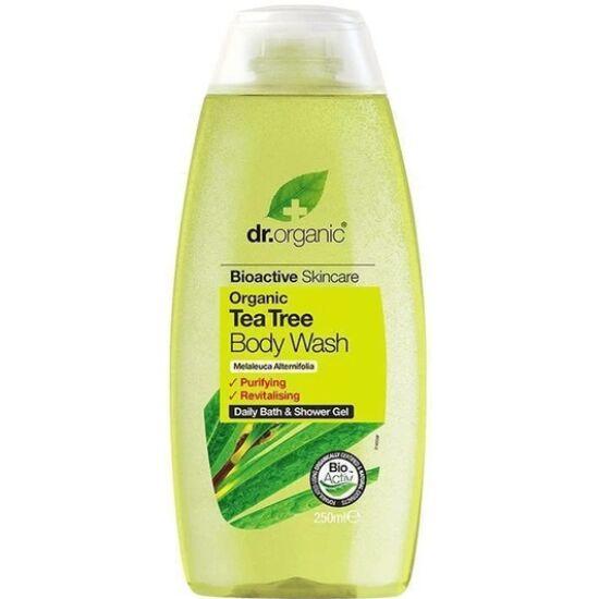 Dr. Organic Tusfürdő bio teafaolajjal 250ml
