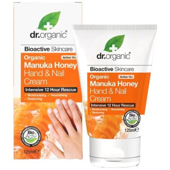 Dr. Organic Kéz- és körömápoló bio manuka mézzel 125ml