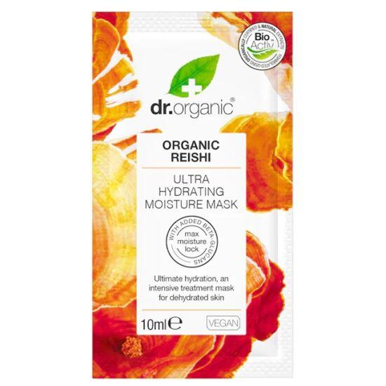 Dr. Organic Ultra hidratáló arcmaszk bio Reishi gombával 10ml