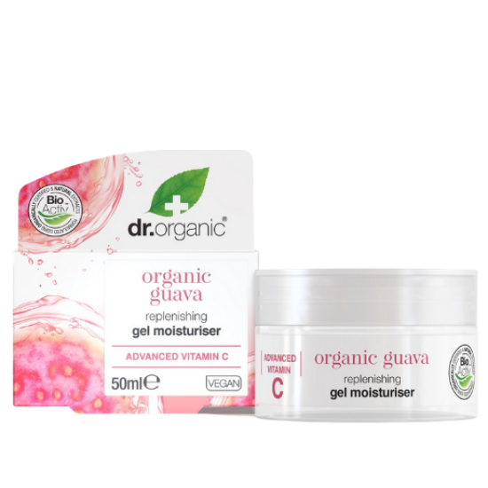 Dr. Organic Feltöltő hidratáló gél guavával 50ml