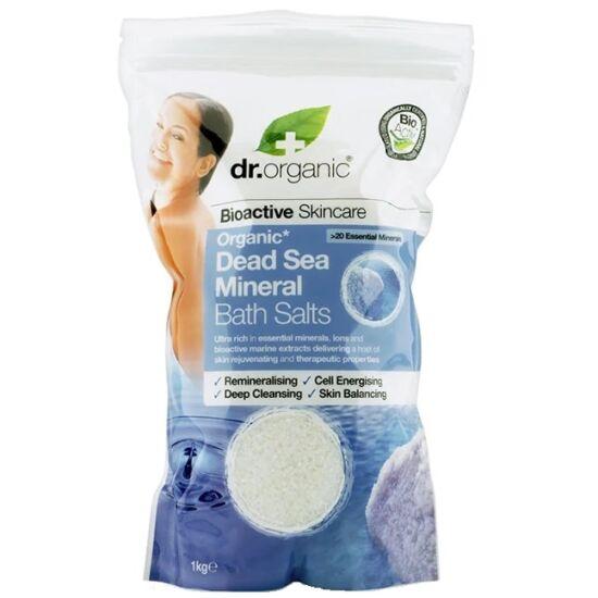 Dr. Organic Fürdősó természetes Holt-tengeri ásványokkal 1 kg