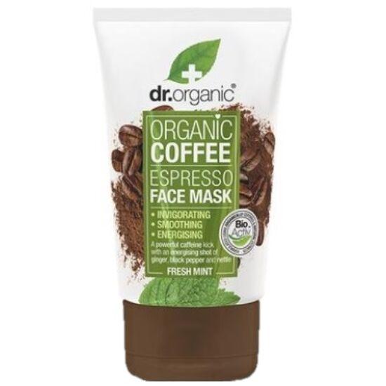 Dr. Organic Élénkítő arcpakolás kávéval 125ml