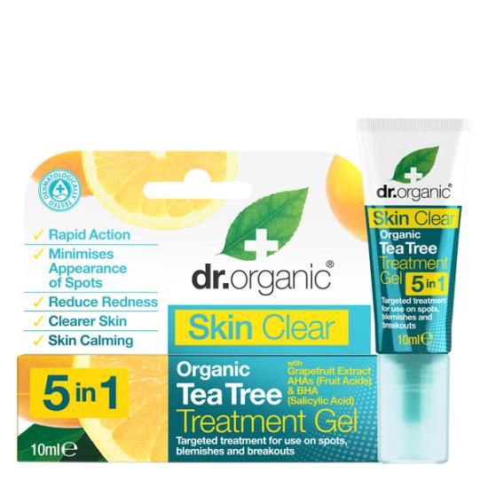 Dr. Organic Skin Clear Pattanáskezelő gél 5 az 1-ben 10ml