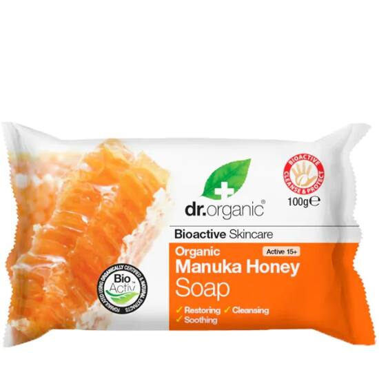 Dr. Organic Szappan bio manuka mézzel 100g