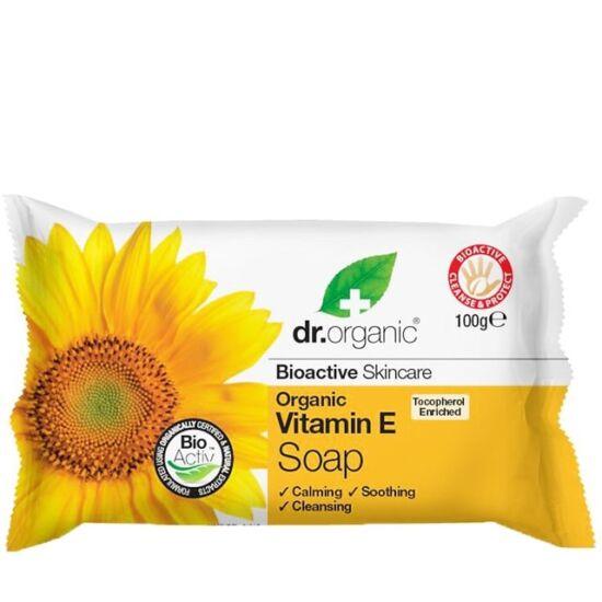 Dr. Organic Szappan természetes E-vitaminnal 100g