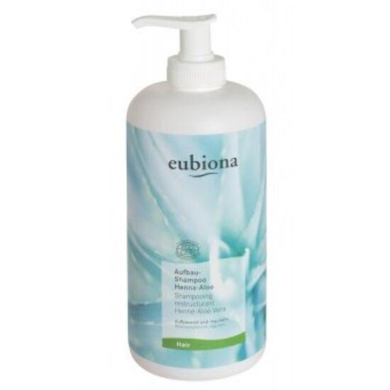 Eubiona Tápláló sampon - henna-aloe vera 500ml
