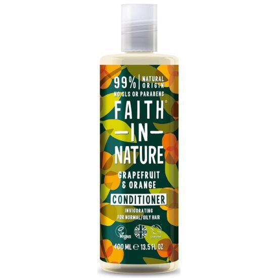 Faith in Nature Grapefruit és narancs hajkondicionáló 400ml