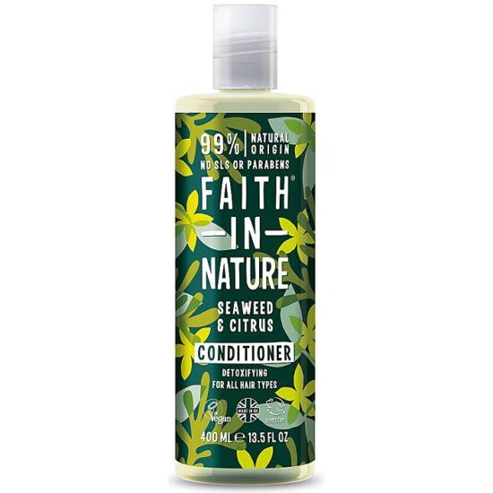 Faith in Nature Tengeri hínár és citrus hajkondicionáló 400ml