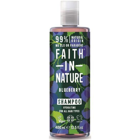 Faith in Nature Kék áfonya sampon 400ml