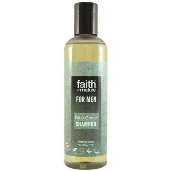 Faith in Nature Kék cédrus sampon férfiaknak 250ml