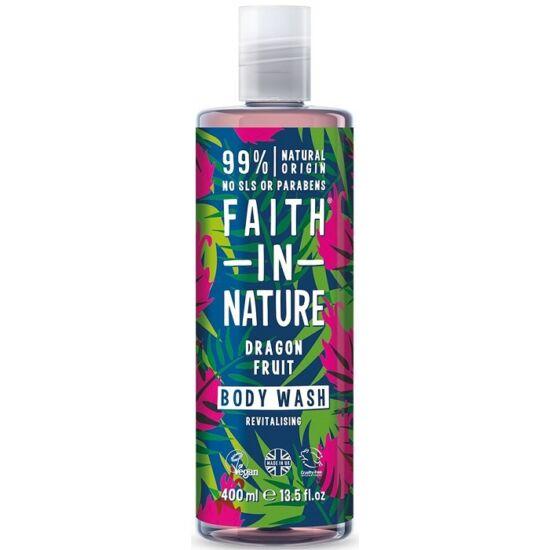 Faith in Nature Sárkánygyümölcs tusfürdő és habfürdő 400ml