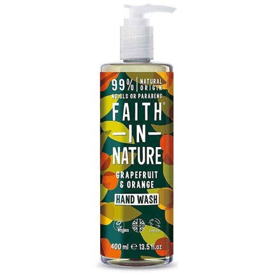 Faith in Nature Grapefruit és narancs folyékony kézmosó 300ml