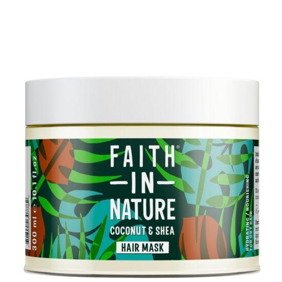 Faith in Nature Hajmaszk Kókusz és Shea vaj 300ml