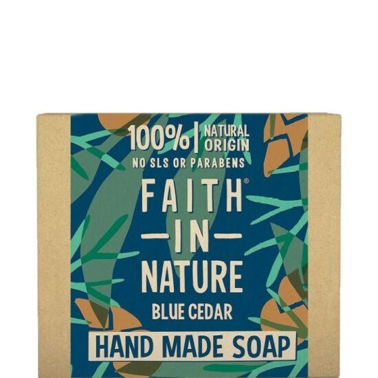 Faith in Nature Kék cédrus szappan férfiaknak 100g