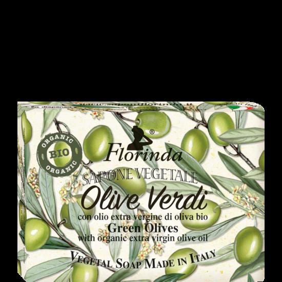 Florinda szappan - Natúr zöld olívás 200g