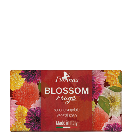 Florinda szappan - Piros virág 200g