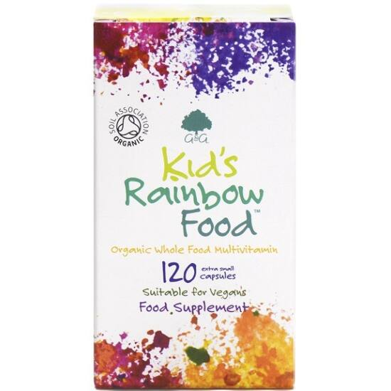 G&G Kid's Rainbow Food organikus multivitamin gyerekeknek 120 kapszula