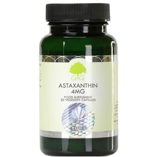 G&G Astaxanthin 4mg 30 növényi lágykapszula