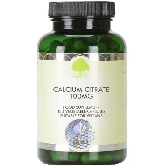 G&G Kalcium citrát 100mg (elemi) 120 kapszula
