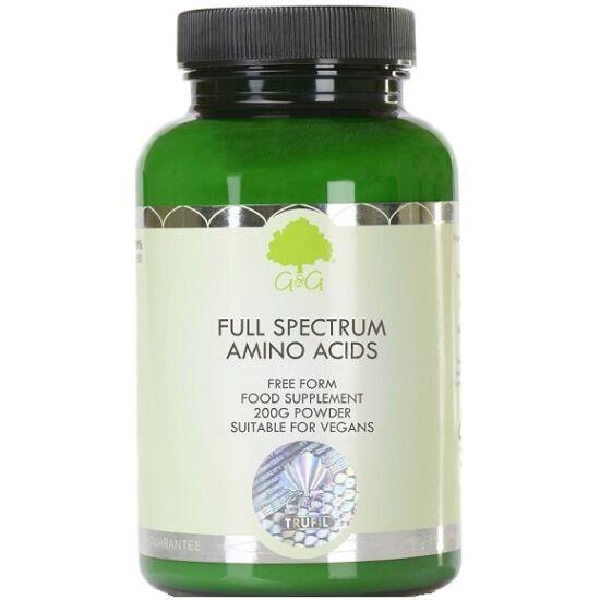 G&G Teljes Spektrumú Aminosav Komplex (szabad kötésű) 200g por