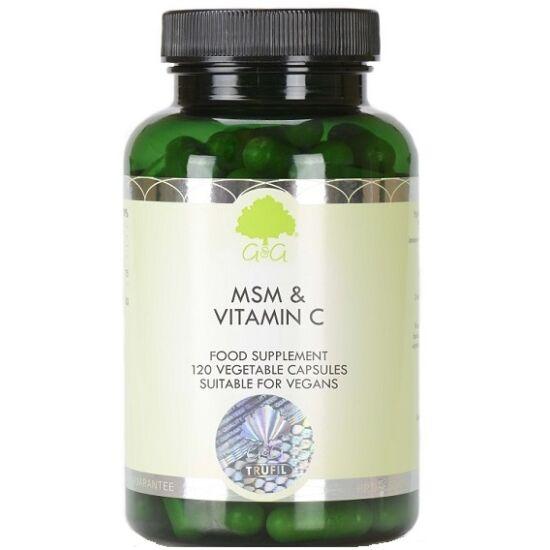 G&G MSM 500mg és C-vitamin (kalcium aszkorbát) 120 kapszula