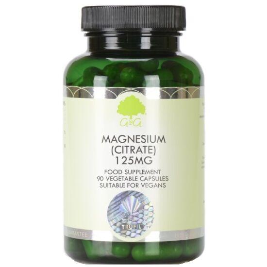 G&G Magnézium citrát 125mg 90 kapszula
