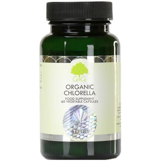 G&G Chlorella alga (törött sejtfalú és organikus) 60 kapszula