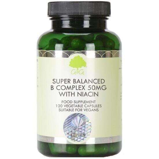 G&G B-vitamin komplex 50mg (niacinos) 120 kapszula