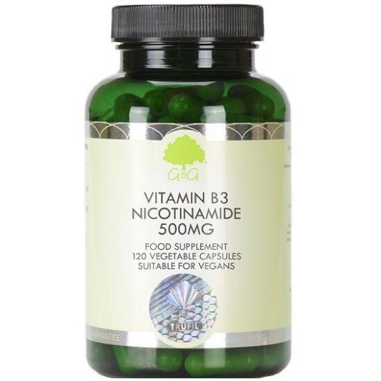 G&G B3-vitamin (niacinamid) 500mg 120 kapszula
