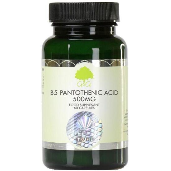 G&G B5-vitamin 500mg 60 kapszula