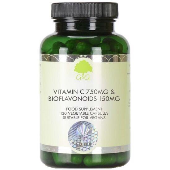 G&G C-vitamin 750mg + Bioflavonoidok 150mg 120 kapszula
