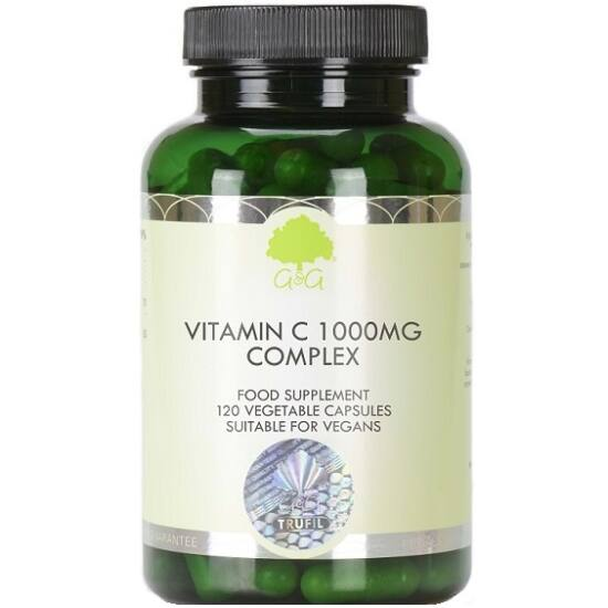 G&G C-vitamin 1000mg csipkebogyóval és acerolával 120 kapszula