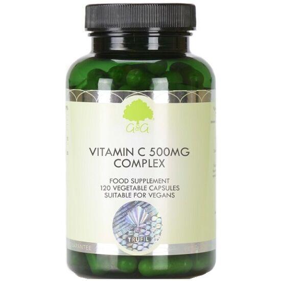 G&G C-vitamin 500mg csipkebogyóval és acerolával 120 kapszula
