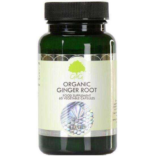 G&G Gyömbér gyökér (organikus) 60 kapszula