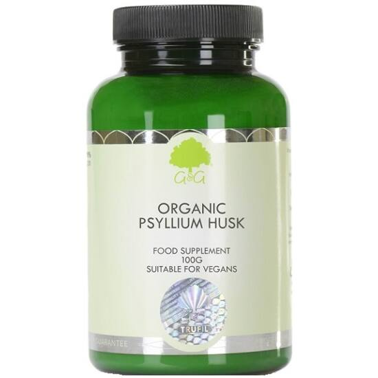 G&G Psyllium Husk (organikus) 100g