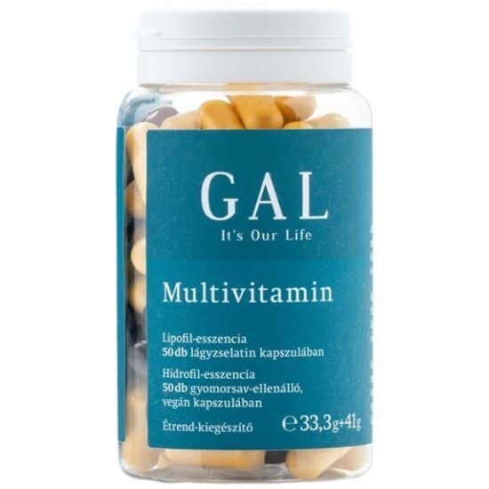 GAL Multivitamin 33,3g + 41g - 50 adag