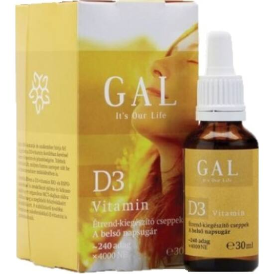 GAL D3-vitamin 30ml
