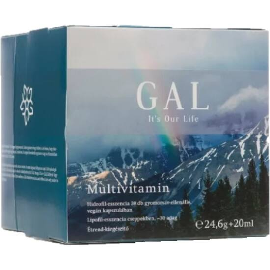 GAL Multivitamin 24,6g + 20ml