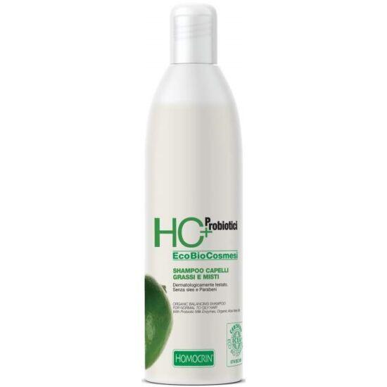 HC+ Természetes kiegyensúlyozó sampon normál és zsíros hajra 250ml