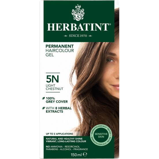 Herbatint Hajfesték - 5N Világos gesztenye 150ml