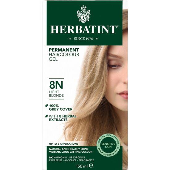 Herbatint Hajfesték - 8N Világos szőke 150ml